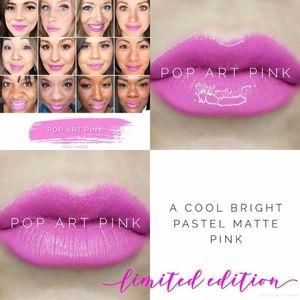 Limited edition pop art pink lipsense color